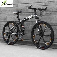 دراجات الكربون الصلب الإطار الدراجة الجبلية 27 سرعة 24/26 بوصة عجلة للطي دراجة لينة الذيل في الهواء الطلق الرياضة انحدار mtb bicicleta