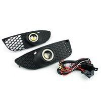 Front Bumper Angel Eyes Fog Lights Driving Lamps For Mitsubishi Lancer 2008-2012