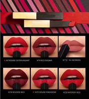 Trucco rossetto opaco make up rossetto il rossetto opaco in pelle Slim Rouge 6 colori