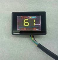 24V36V48V ЖК-дисплей Спидометр Уровень батареи Уровень батареи Индикатор Одомера Приборная панель Для Скутера Электрический Велосипед MTB Трехколесный велосипед ATV Partt