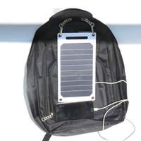 휴대용 접이식 6.5W 태양열 충전기 휴대 전화 충전기 보드 패널 배터리없이