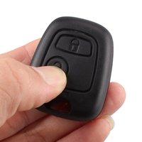 Замена Peugeot 307 ключ входа Keyless Remote Fob чехол для Peugeot 207 306 307 Бесплатная доставка H210901Free доставка