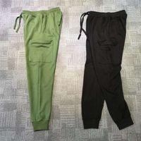 Erkek Joggers Parça Pantolon Kazak Yan Cep Tunçu Casual Uzun Erkekler Kadınlar Için Gevşek Pantolon M-2XL