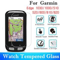 10PCS Tempered Glass For Garmin Edge 1030 1000 510 810 820 Screen Protector 520 800 GPS Mountain Bike Protective Film