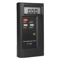 Freeshipping Dt-1000 3-1 / 2 Pantalla LCD Detector de radiación de campo electromagnético Medidor de banda ancha de prueba Lcd