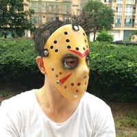 Acadeista Jason Máscaras Fuerza Completa Antigua Killer Viernes El 13º PROP HUGRE HOCTOR HOGKEY COSTUCHO COSPLAY COSPLAY YSY111Q