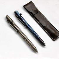 Titaner titanium tc4 ti العمل الترباس جيب كليب قواطع زجاجية القلم الطوارئ الدفاع بقاء edc أداة