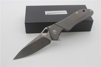Samier Knives Originality M03 Custom Flipper Folding Knife S...