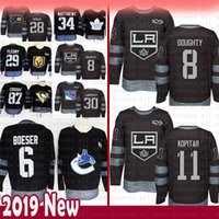 100e anniversaire du chandail de hockey des Canadiens 6 de Karité Weber Los Angeles 8 Drew Doughty 11 chandails Anze Kopitar