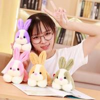 20cm mignon doux en peluche lapin en peluche animal de Pâques lapin cadeau personnalisé jouet pour enfants cadeau d'anniversaire