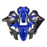 혼다 CBR900RR 2002 2003 블랙, 블루 페어링에 대한 뜨거운 판매 페어링 키트 설정 CBR 954RR 02 23 FD35