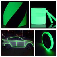 Leuchtband Self Adhesive Glow In The Dark Wand Fluorescent Band Fluorescent Notfall-Aufkleber