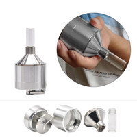 44 / 56mm Mill Herb Grinder Metal Spice Press Crusher PER VAPORIZZATORE Tabacco Grinder Herb Grinder Crusher Tabacco in metallo Mano Muller Manovella