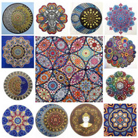 DIY Diamond Painting Special Flower Mandala Diamond 5D Embro...