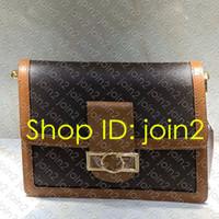 WOC di modo delle donne MINI DAUPHINE MM portafoglio catena del progettista del corpo della traversa del Flap Mini Nano IT Hobo Bag borsa di lusso della catena della frizione Portafoglio