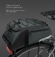 ROSWHEEL Mountain Road 8L Bolsa de bicicleta Ciclismo Asiento del asiento trasero Bolsa de maletero Mochila Portador Bolsa de hombro Bolso con correa para el hombro