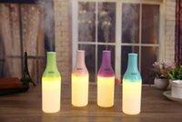 دي إتش إل الحرة كول زجاجة ميست صانع ادى 180ml ليلة الخفيفة لتنقية الهواء من الضروري النفط الناشر مرطبات USB الروائح الناشر