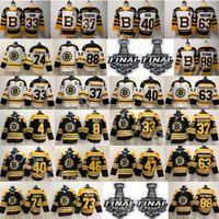 2019 Stanley Cup Finali Boston Broston Zdeno Charra Jersey McAvoy Hockey Cam Neely 88 David Pastrnak Tukka Rask Toorey Krug Bobby Orr Backes