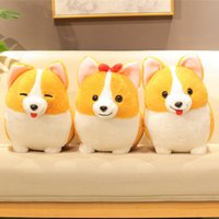 Cute Corgi Dog Plush Toy Stuffed Soft Animal Cartoon Pillow ...