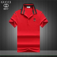 2019 Luxury Fashion Men' s London Brit Polo Shirts Leaf ...