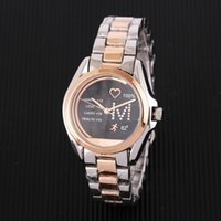 2019 Lovers Women Men Big Watch Gold silver Stainless steel ...