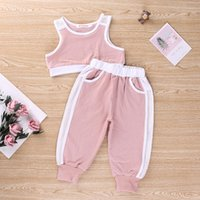 New Design Toddler Girls Clothes Sets 2020 New Summer Sleeve...