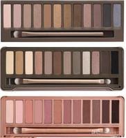 Горячая Eyeshadow Палитра первый второй третий Generationmake вверх / глаз макияж Самые новые 12 цветов Косметика Shimmer Eye Shadow Matte с щеткой M301 1шт