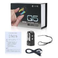 Q5 HD Mini Thumb DV DVR 720P Портативная мини-Камера DV с обнаружением движения цифровой видеомагнитофон поддержка TF-карты мини-Спортивная камера