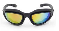 Daisy C5 Tactical C5 Polycarbonate Desert Storm sports sunglasse 4 lentilles Lunettes Vélo Équitation Protection Lunettes de protection pour Airsoft U