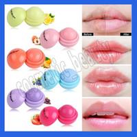 새로운 로망틱 베어 귀여운 라운드 볼 립밤 3D 리파 발리 과일 향미 립 Smacker Natural Moisturizing Lips Care Balm Lipstick