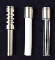 quente sall Substituição 510 Threaded Titanium Ceramic prego Quartz Dicas Para a ponta Nectar Collector Gr2 Titanium