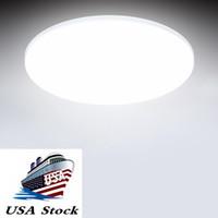 Estoque em US 18W 3000K 5000K superfície montagem flush ultra fina levou luz lâmpada de luz Lâmpada LED painel para banheiro de quarto