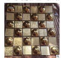 2020 Gorąca sprzedaż Materiały budowlane Gold Folia Kapelusz Mozaika Wodoodporna Salon Płytki Ceramiczne Telewizja Tło ściany Płytki Podłogi