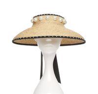 20ss Saman İnci Kapaklar Üst Tatil Plaj Şapka Bayan Geniş Ağız Şapka Yüksek Kaliteli Güneş Şapka Gelgit Balıkçı Şapkalar