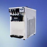 Einfrieren 1600W Joghurt-Eiscreme-Maschine mit LCD-Display für Gewerbe Desktop-Softeis-Maschine zum Verkauf