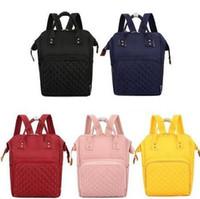 Diaper Bags mamma Zaino Pannolini borse ad alta capacità Designer Madre Maternità zaino di colore della caramella di moda all'aperto borsa da viaggio C1574
