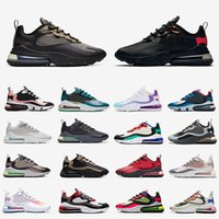 Nike air max 270 react airmax  Stock X 270 React Just do it Mens Running Shoes Safari Camo CNY Parachute Hot Punch Triple Black White Men women Sports Trainers designer Sneakers