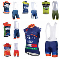 2019 FANTINI team Radsport ärmellose jersey Weste (lätzchen) shorts sets bike maillot ropa ciclismo MTB Bicycle Racing kleidung K032509
