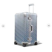 Другие диорельные стальные троллиты Роллинг багаж 2 цвета 73 * 44 * 37 см чемоданы сундуки ювелирные изделия коробка для деловых поездок