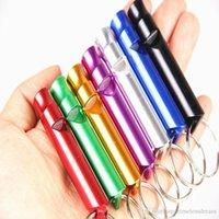 Haustier-Produkt für Hunde Aluminiumlegierung Haustier-Welpen-Hundespielzeug Animal Training Obedience Ton Whistle verfügbar Kompakt und tragbar