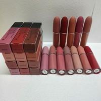 립글로스 매트 립스틱 립글로스 12 색 메이크업 레트로 립스틱 프 로스트 섹시한 매트 립스틱 4.5g 12 색 립스틱 DHL 무료시