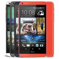 Recuperado HTC Desire Original 816 5.5 polegadas Quad Core de 1,5 GB RAM de 8GB ROM 13MP câmera 3G desbloqueado Android Smart Mobile telefone gratuito DHL 10pcs