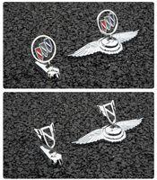 Buick Yeni Lacrosse Eski Stil Logo Regal Oto Styling Ön Hood Bonnet Amblem Metal Rozeti Çıkartmalar
