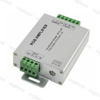 Dimmerler Amplifikatör RGB DC12-24V 12A 24A 3 CH Aydınlatma Aksesuarları için 5050 3528 Strip Bant LED Kontrol DHL