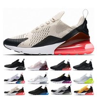 watch 20137 b4062 Nike air max 270 27c airmax Nuovi arrivi 2019 Scarpe da uomo Nero Triple  Bianco Cuscino