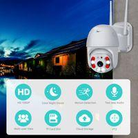 1080P HD 와이파이의 IP CCTV 카메라 방수 야외 HD PTZ 보안 무선 IR 캠