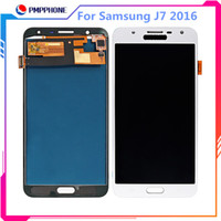 Haute qualité LCD + Écran Tactile Pour Samsung Galaxy J7 2016 J710 J710F J710M J710H LCD Display Digitizer Assembly 5.5inch