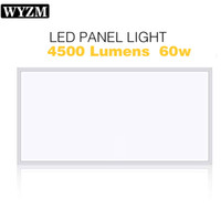 2- Pack 2x4 FT LED Panel Light, 60W, 5000K Day White, 7100LM,...