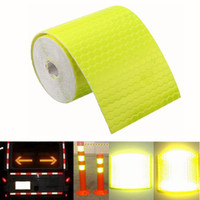 5cm X 300cm Reflective Safety Warning Conspicuity Tape Film Car Sticker - Yellow