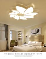 Современные светодиодные Потолочные светильники Столуют лампу гостиной освещения дети спальни светильники домов светильников люстра освещения